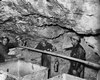 Miners with tubes in the mine, 1950