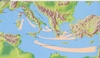 Commercial streams from the Mediterranenan Sean and the Etruscan territories